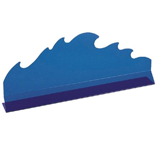 Разделитель (Волна) L 75см h 2,5см, пластик синий