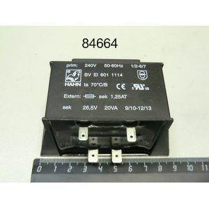 Трансформатор 240V 50/60Hz