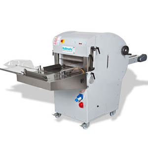 Хлеборезка, автомат, загрузка хлеба 520мм, передвижная, зазор 9мм
