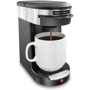 Кофеварка заливного типа, чалдовая, объем бака 0.35л, подача в чашку