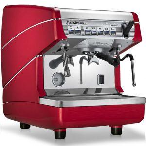 Кофемашина-автомат, 1 группа (выс.), бойлер 5л, красная, Autosteam
