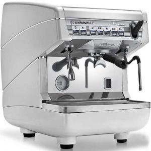 Кофемашина-автомат, 1 группа (выс.), бойлер 5л, белый жемчуг