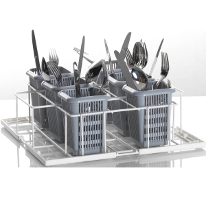 Корзина посудомоечная для столовых приборов для машин посудомоечных UC-S, 400х400мм (размер S), проволока, вместимость 6 стаканов