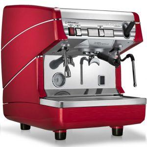Кофемашина-полуавтомат, 1 группа (выс.), бойлер 5л, красная