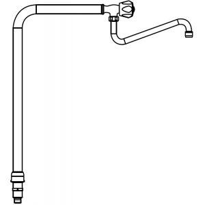 Колонка водяная для установки на тепловой линии серии LX900 Top, S900, S700, Maxima 900, Macros 700, нерж.сталь