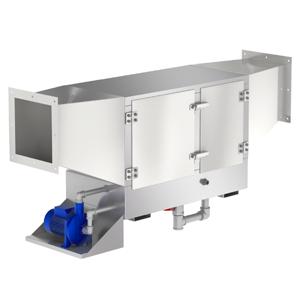 Гидрофильтр, сеч. 250х250мм, 1000-1500 м.куб/ч, люк справа