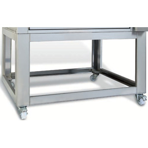 Подставка для печи для хлеба подовой T Polis 2S, 1020х1070х1250мм, открытая, обвязка с 4-х сторон, нерж.сталь, передвижная, 1 модуль
