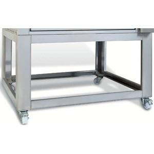 Подставка для печи для хлеба подовой T Polis 2, 1250х870х1250мм, открытая, обвязка с 4-х сторон, нерж.сталь, передвижная, 1 модуль