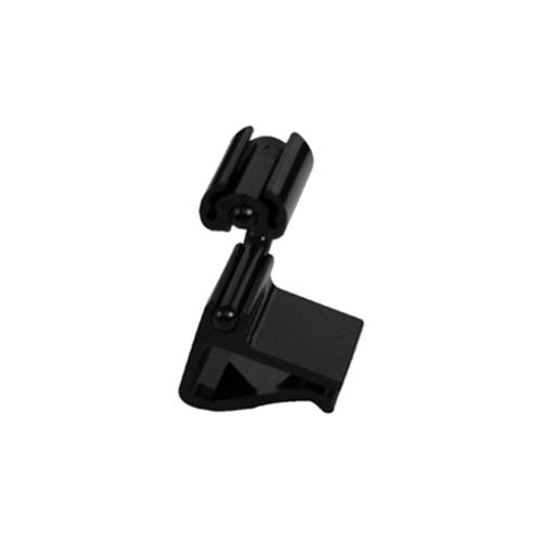 Ценникодержатель L 2см (набор 10шт) горизонтальный, пластик черный