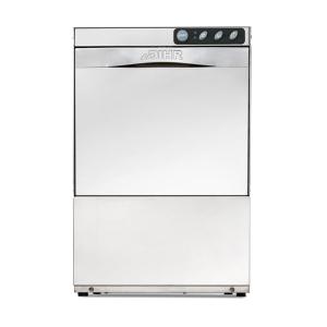 Машина посудомоечная фронтальная, 400х400мм, 30кор/ч, гор.вода, доз.опол.+моющ., D тарелки 295мм, сливная помпа