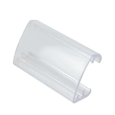 Ценникодержатель L 7,3см w 4,3см h 2,2см (набор 10шт), прозрачный