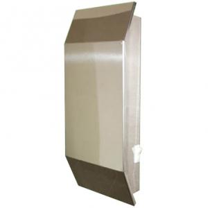 Облучатель-рециркулятор бактерицидный, для помещ. 50м.куб., вент. нерж. ( зеркальный)