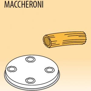 Матрица латунно-бронзовая для аппарата для макаронных изделий MPF 1.5N, maccheroni (макароны), D8.5мм