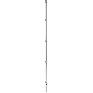 Стойка для стеллажа мобильного, H1.39м, сталь с покрытием хромоникелевым, для сухих помещений