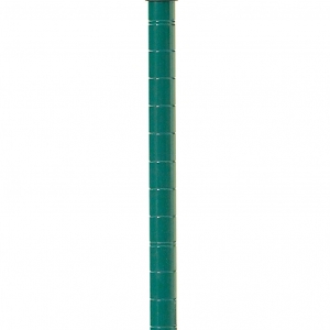 Стойка для стеллажа стационарного, H1.39м, сталь с покрытием Metroseal3-Microban, для влажных помещений