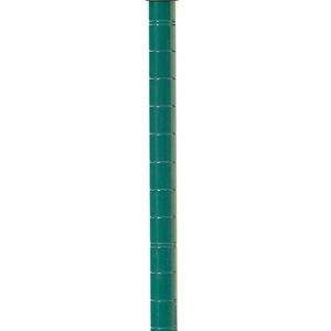 Стойка для стеллажа мобильного, H1.39м, сталь с покрытием Metroseal3-Microban, для влажных помещений