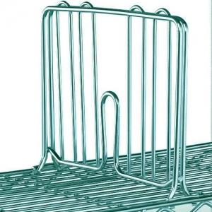 Разделитель решетчатый для полки 355мм, h203мм, сталь с покрытием Metroseal3-Microban, для влажных помещений