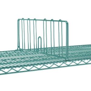 Разделитель решетчатый для полки 530мм, h203мм, сталь с покрытием Metroseal3-Microban, для влажных помещений