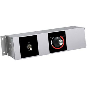 Блок управления для ИК-подогревателей, выносной, 1 тумблер, 1 терморегулятор