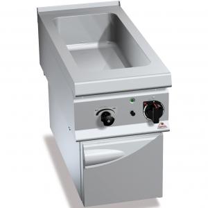 Мармит электрический, 1 ванна 1GN1/1+1GN1/3, стенд закрытый, встраиваемый