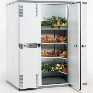 Камера холодильная замковая,   3.50м3, h2.10м, 1 дверь расп.правая, ППУ80мм, левый моноблок (-2/+5С)