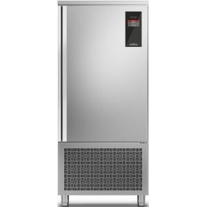 Шкаф шоковой заморозки/охлаждения мороженого, EN, 15 лотков, без агрегата, загрузка 56/70кг, сенс.упр., щуп, ножки, дин.охл., 1 дверь правая, 4 полки