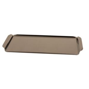 Поднос для доски 90411 для приготовления стейка, нерж.сталь