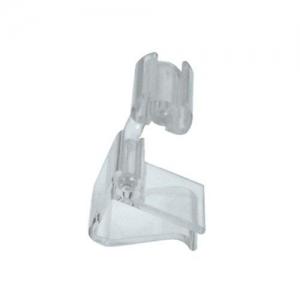 Ценникодержатель L 2см (набор 10шт) горизонтальный, пластик прозрачн