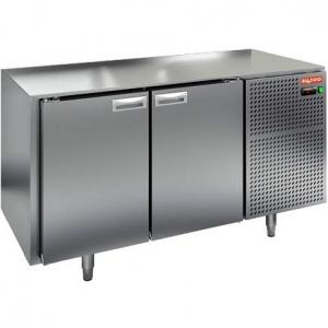Стол холодильный, GN1/1, L1.39м, без столешницы, 2 двери глухие, ножки, -2/+10С, нерж.сталь, дин.охл., агрегат справа