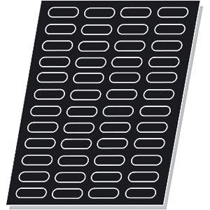 Форма МИНИ-ЭКЛЕР (48 ячеек) L 64см w 40см h 4см, силикон