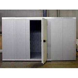 Камера холодильная замковая,  13.70м3, h2.12м, 1 дверь расп.правая, ППУ80мм