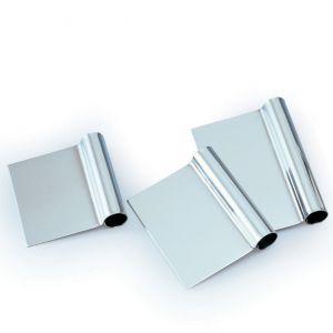 Скребок L 12,5см w 10,5cм прямой, нерж.сталь