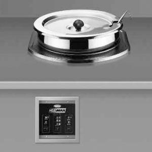 Мармит электр., 10л, встраиваемый, д/первых блюд, цилиндрический