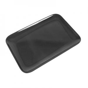 Поднос для выкладки L 20см w 29см, пластик черный