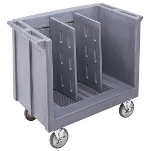Тележка для посуды L 99см w 59см h 88см, гранино-серый