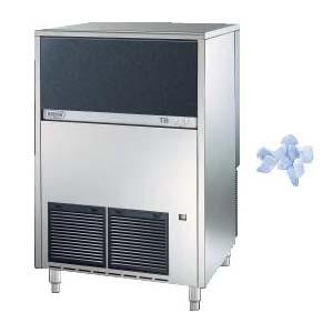 Льдогенератор для крупногранулированного льда,  140кг/сут, бункер 50.0кг, вод.охлаждение, корпус нерж.сталь