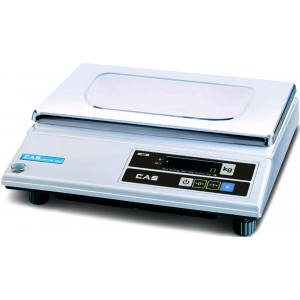 Весы электронные порционные, настольные, ПВ 0.02-5.00кг, платформа 335х210мм, подключение от сети, корпус пластик, интерфейс RS-232С