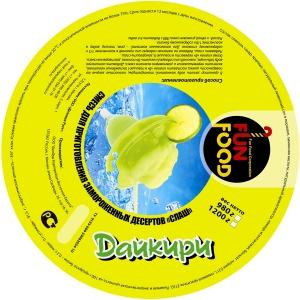 Смесь для приготовления десерта СЛАШ, «Дайкири», 980г.