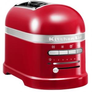 Тостер на 2 хлебца, красный