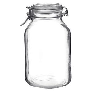 Банка для сыпучих продуктов D 13,5см h 23,5см, 3л, стекло прозрачн.