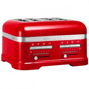 Тостер на 4 хлебца, красный