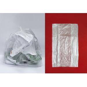 Пакеты для мусора 59л прозрачный полиэтилен, 1000шт (10х100)
