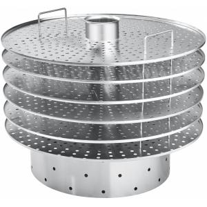 Комплект пароварочный (матоварка) для котла пищеварочного КПЭМ-160, нерж.сталь