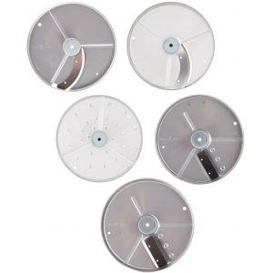 Комплект дисков-ножей для овощерезки-куттера R211 XL, R211 XL Ultra, R301 Ultra, R402 и овощерезки CL20, 5 шт.