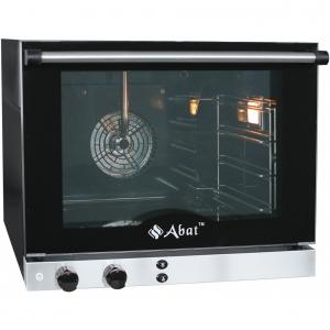Печь электрическая конвекционная,  4х(460х330мм), управление электромех., корпус эмалир., 220V, увлажнение