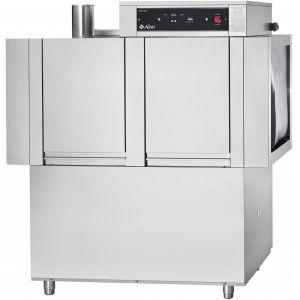 Машина посудомоечная конвейерная, 500х500мм,  95кор/ч, левая, гор.вода, доз.опол.+моющ., моющий насос