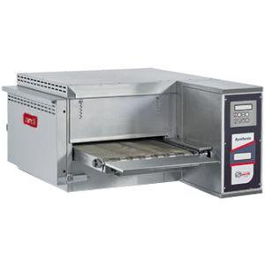 Печь для пиццы электрическая, конвейерная, 1 камера 400х580х95мм, электронное управление, нерж.сталь