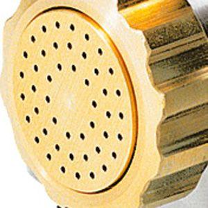 Матрица латунно-бронзовая для аппарата для макаронных изделий MPF 2.5N и MPF 4N (D57мм), spaghetti (спагетти), D2мм