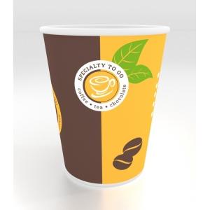 Стакан бумажный для горячих напитков COFFEE-TO-GO 400мл, 50шт
