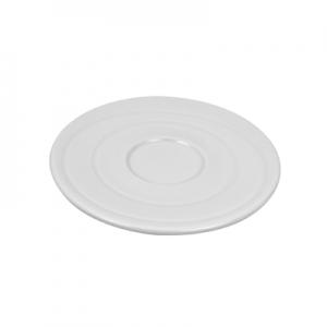 Блюдце ORBIT D 14см h 1,5см, пластик белый